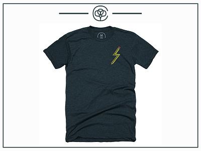 Cb Quick Stick Tee cotton-bureau cb t-shirt tee logo logo-design illustrations design icons