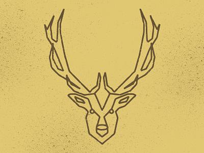 Elk Geometric geometric northern north elk logo logo-design illustrations design icons