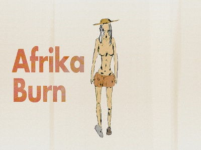 Afrika Burn Tales retro design art web artwork animation typography design illustration art illustration cinematic