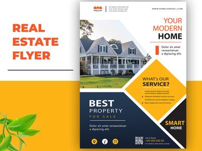 Real Estate flyer design branding website social media banner logodesign vector logo animation design typography illustration