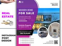 Real Estate social media post banner brochure flyer social media banner logo logodesign vector animation typography illustration branding