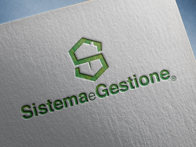 Sistema e Gestione logo letter s logo letter g logo house ship negativespace negative space logo negative space logo design logodesign logo