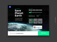 Daily UI #032 - Crowdfunding