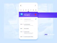 Daily UI #042 - To-Do List