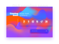 Daily UI #048 - Coming Soon