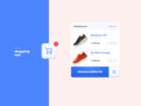 Daily UI #058 - Shopping Cart