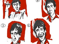 Tony Montana Rough Sketches