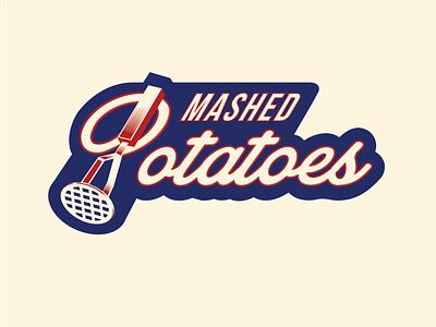 Mashed potatoes jerseys dribbble logo
