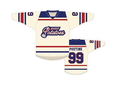 Mashed Potatoes Jerseys sport masher potato jersey hockey