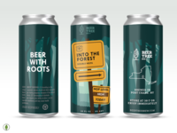 Beer Tree Brew Co - Into the Forest, Version 1