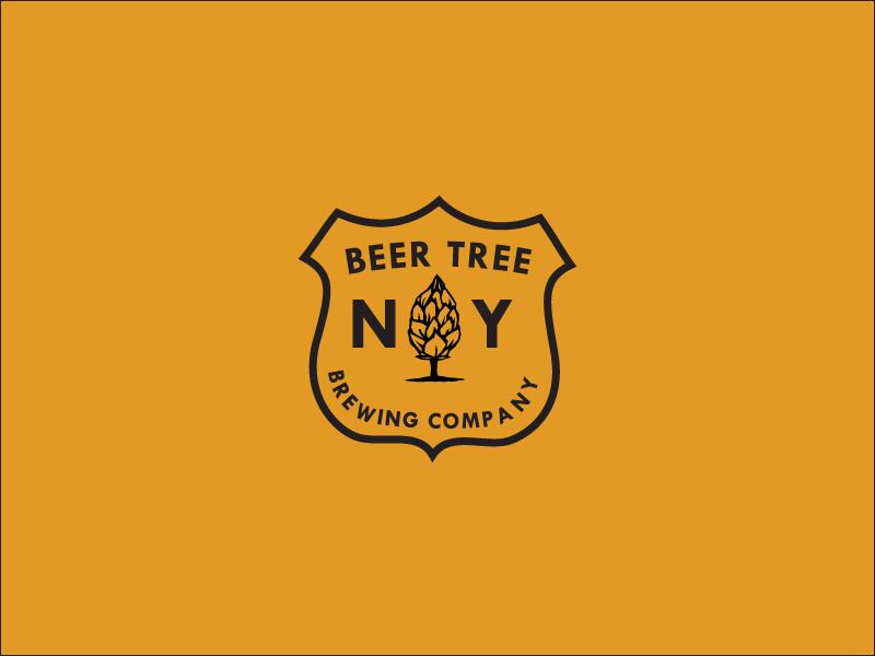 Beer Tree Brew Co –Park Service Patch united states new york ranger hops hop woods forest forestry service park emblem patch