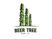 Beer Tree – Hop trellises, early iteration