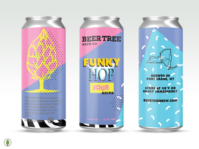 Beer Tree Brew Co - Funky Hop saved by the bell sour neipa nickelodeon zebra funky 90s