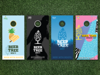 Beer Tree Brew Co - Cornhole Boards for Fall
