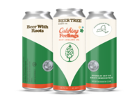 Unused Can Concept for Beer Tree