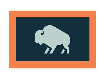 JH WYO wyoming jackson hole buffalo flag state