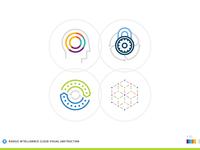 Radius Intelligence Cloud Icons