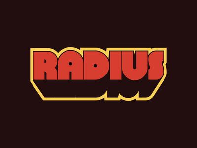 Vintage Radius Movie Title
