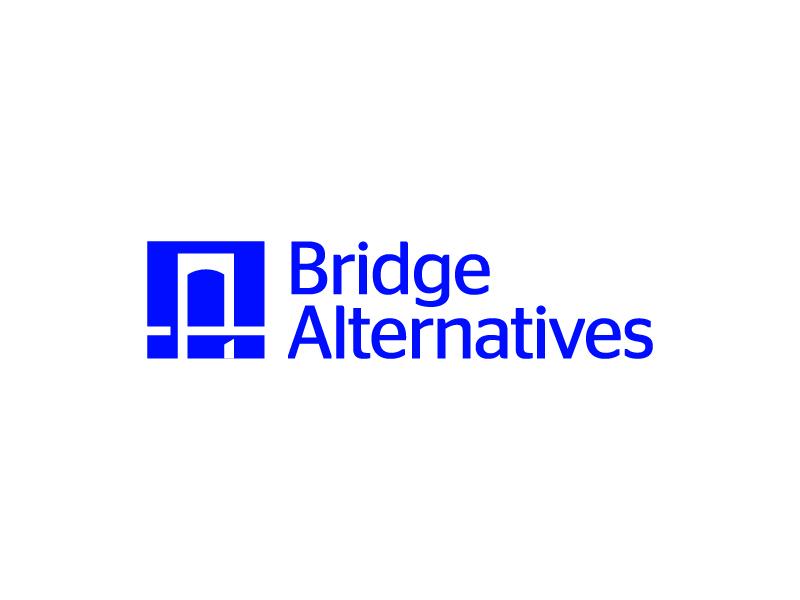Bridge Alternatives Logo (Final) bridge mark logo