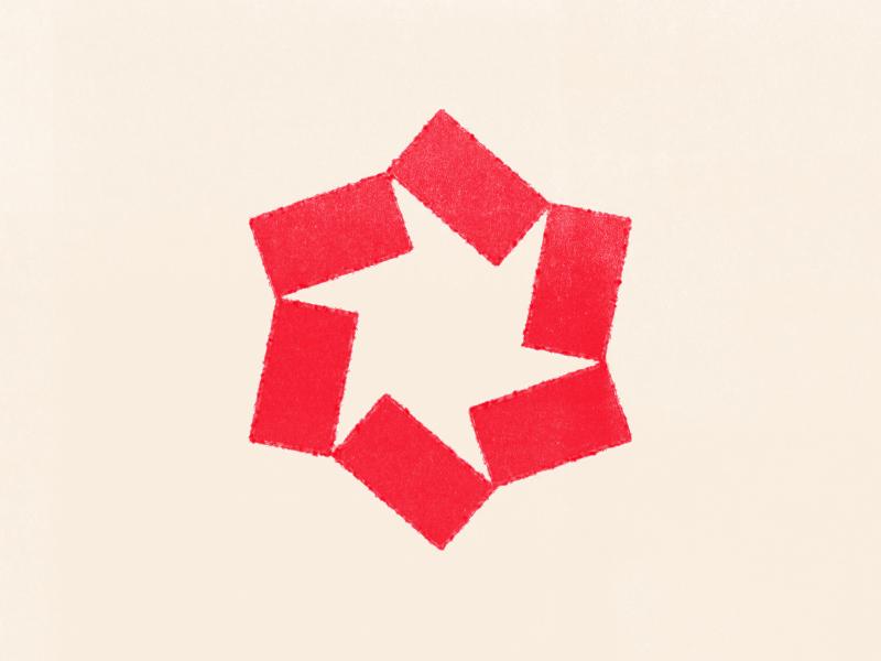 A little somethin' for a whole lotta nothin', updated ninja star geometric mark shape