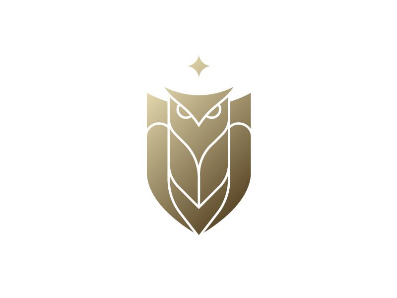 Unused stuff - 1/2 versace gold owl logo