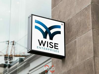 Wise Enterprises #logo logomaker logodesigner brand logo logo