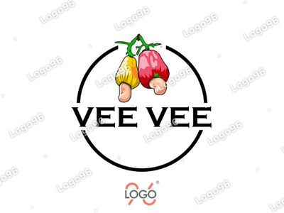 Vee Vee  #logo ( a cashew nut company ) logo maker brand logo logodesigner logo