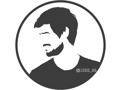 Dhruv Rathee #facelogo Visit our Instagram : Logo_96 logo96 logodesigner brandlogo logo facelogo