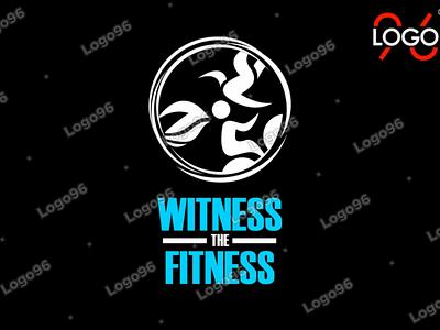 Witness the fitness  #businesslogo logo namelogo logodesigns logomaker logodesinger brandlogo