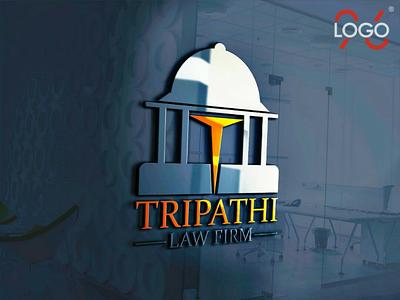 Tripathi Law Firm #businesslogo businesslogo logo design logo brandlogo