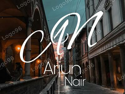Arjun Nair Logo businesslogo logodesigner logo96 illustration namelogo logodesigns an logo logodesign logomaker brandlogo