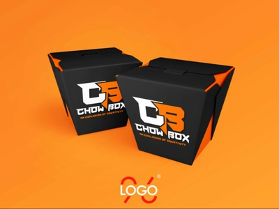 Chow Box #logo logo facelogo illustration logodesigns businesslogo namelogo logodesign logodesigner logomaker brandlogo