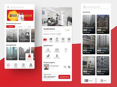 Redesign Aplikasi Travelio.com design android app design android app apps design ui