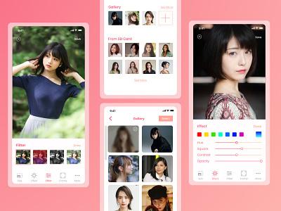 Photo Editor Light app editing photo editorial design ios app ios app design apps design design ui