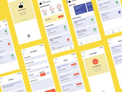Personal Work Apps personal work work app apps design design ui