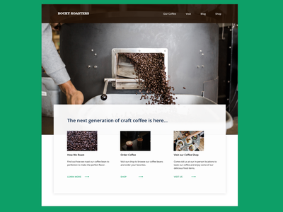 Landing Page website design ux branding web ui