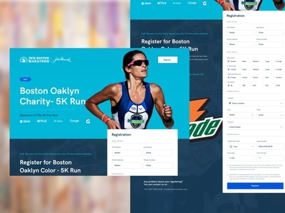Website Ad marketing website design branding layout design clean ui clean minimal