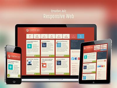 Creativejuiz Responsive responsive webdesign blog creative