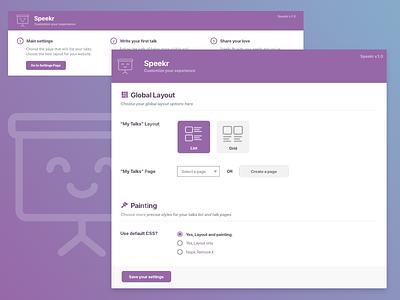 Speaker WordPress Plugin Admin admin plugin wordpress interface