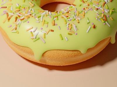 Donut texture donut art illustration 3d 3d art illustrator design