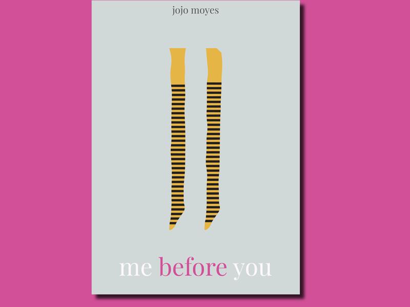 Me before you illustration poster design typography poster minimalposter minimalistic minimalism design creative