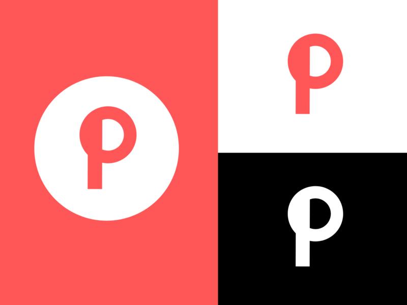 Pinterest logo redesign idea redesign pinterest design branding logo
