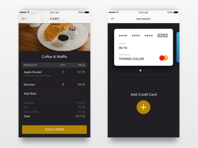 order coffee order payment cart food coffee