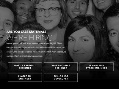 Live Nation Labs live nation live nation labs ohjamesy james hsu ui website interactive typography interface