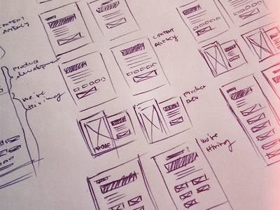 Intentionally Left Blank 1 wireframes sketches wireframe ui ux james hsu ohjamesy wireframing