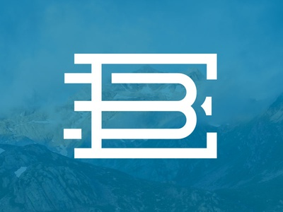 Monogram Life logomark wordmark logotype monogram typography eb ohjamesy james hsu logo