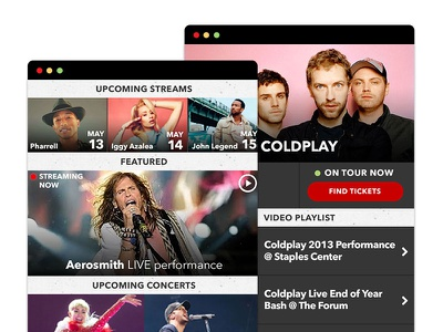 Mobile Layout Exploration ohjamesy james hsu livenation labs web ui ux mobile layout interface design ohjamesy james hsu livenation labs