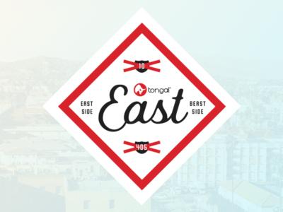Tongal East Logo east la tongal james hsu ohjamesy branding