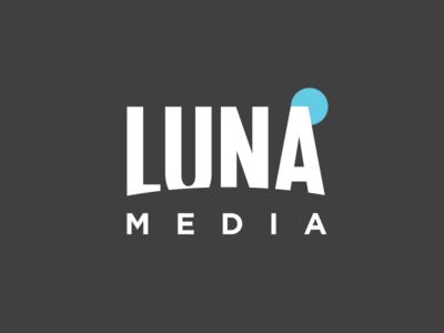 Luna Media Logo logo