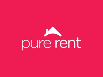 Pure Rent Logo logo